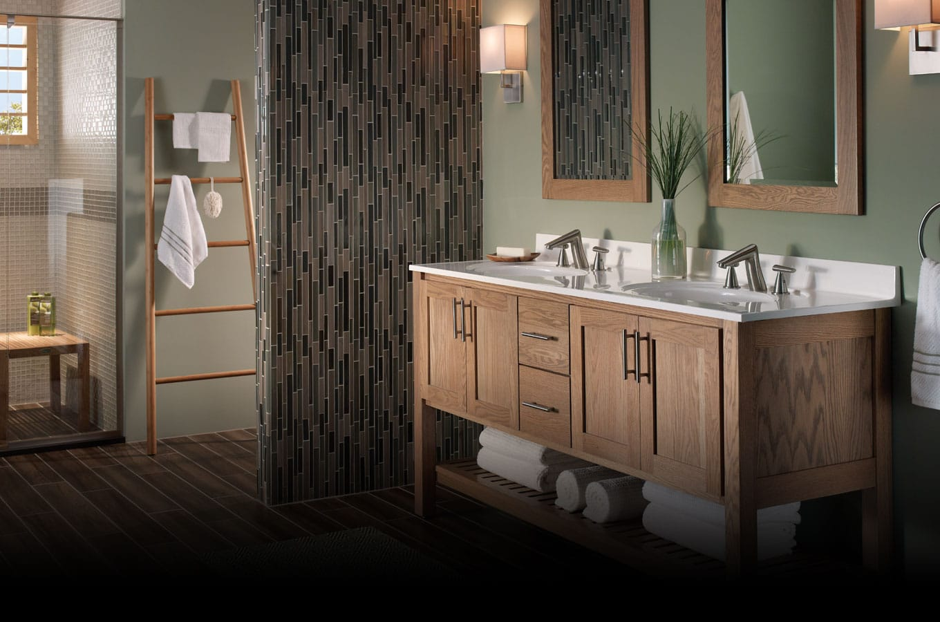 Custom Bathroom Vanities York Region kitchen cabinets, bath vanities, vanity tops, interior & exterior