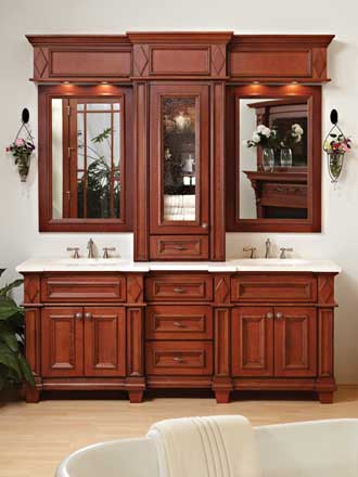 Bath vanities madison bertch cabinets for Bertch kitchen cabinets