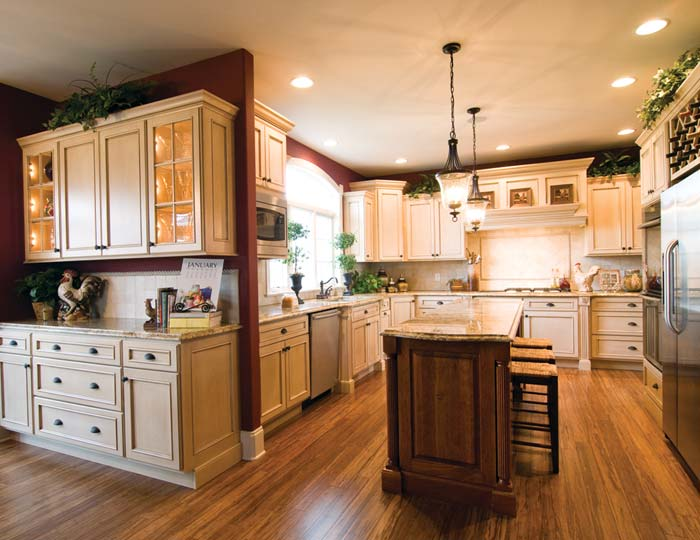 Bertch cabinets Custom kitchens pictures