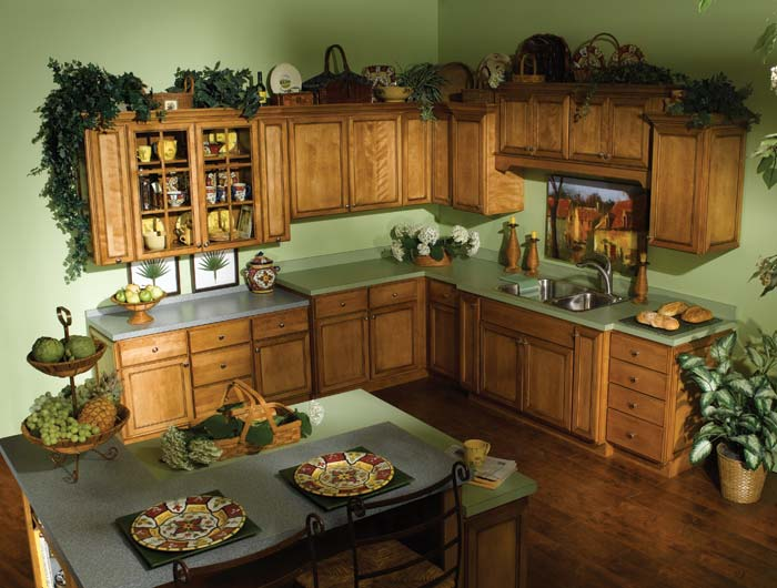 Stock Kitchen Cabinets. Hartman Square