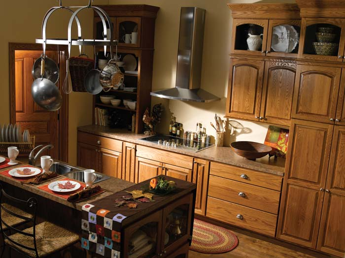 Bertch cabinets for Arch kitchen cabinets