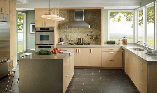 custom kitchen cabinets, semi-custom kitchen cabinets, stock