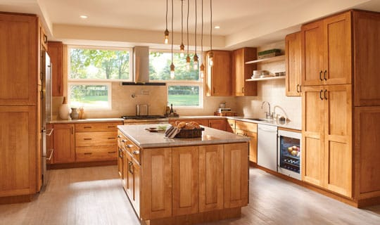 Stock kitchen cabinets marketplace cabinetry bertch for Stock kitchen cabinets