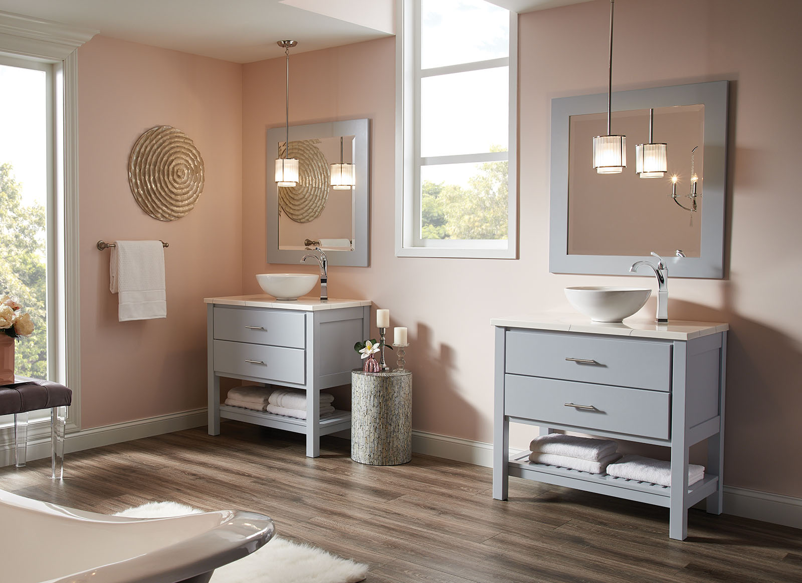 Tips For Designing A Contemporary Bathroom Bertch Cabinet Manufacturing