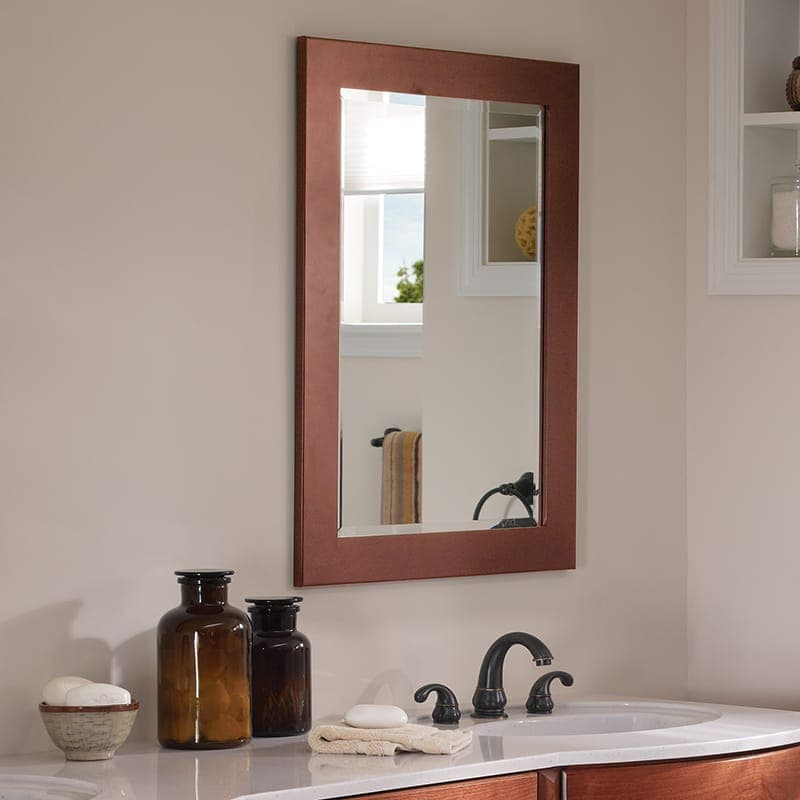 Framed Mirror - Framed Mirrors - Bertch Cabinet Manufacturing