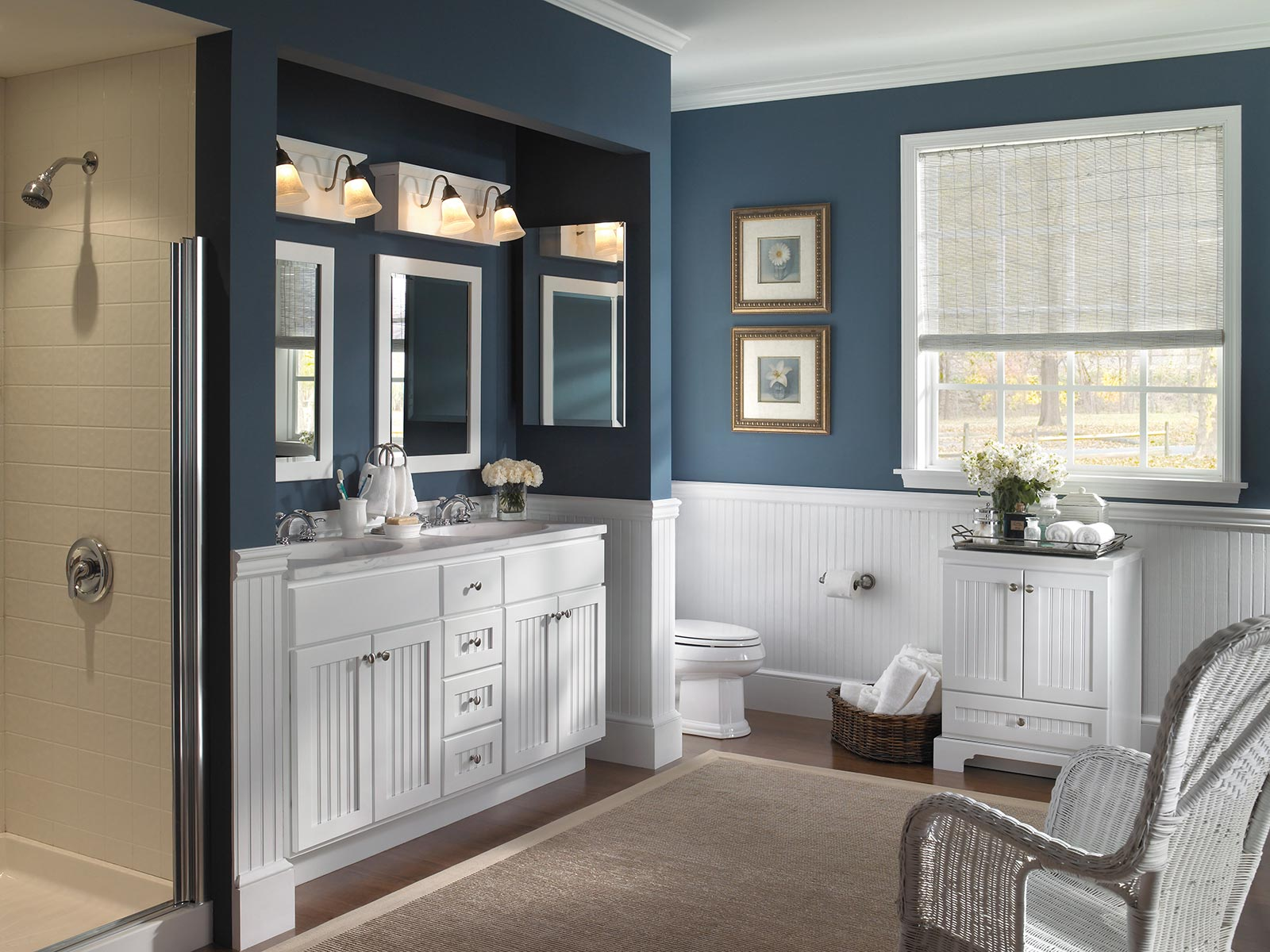 Bath vanities and bath cabinetry bertch cabinet - Bathroom cabinets sinks and vanities ...