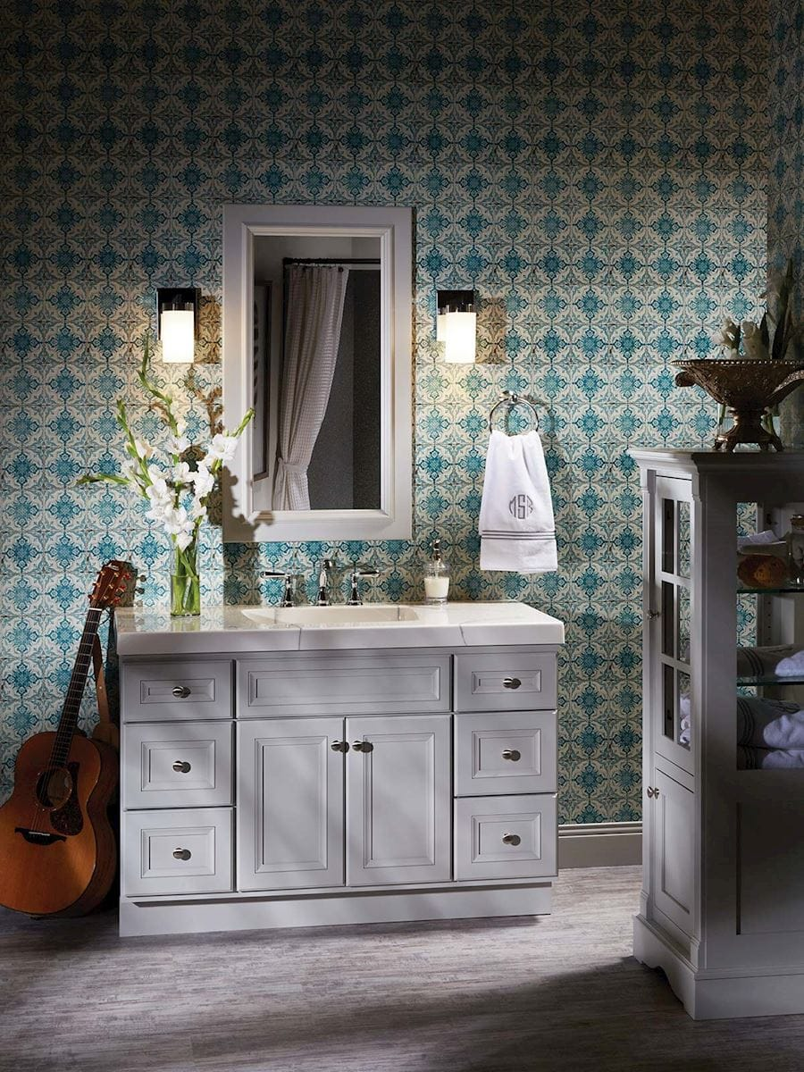 Marcus Vanity Style Classic Series Bertch Cabinets