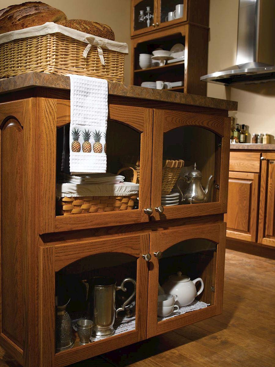 Newman Arch Cabinet Series Bertch Cabinet Manufacturing