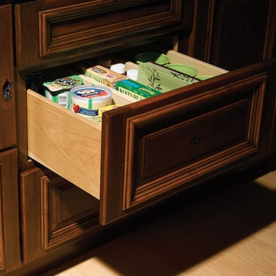 Divided Drawer (Vertical)