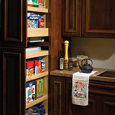 Tall Pullout Storage