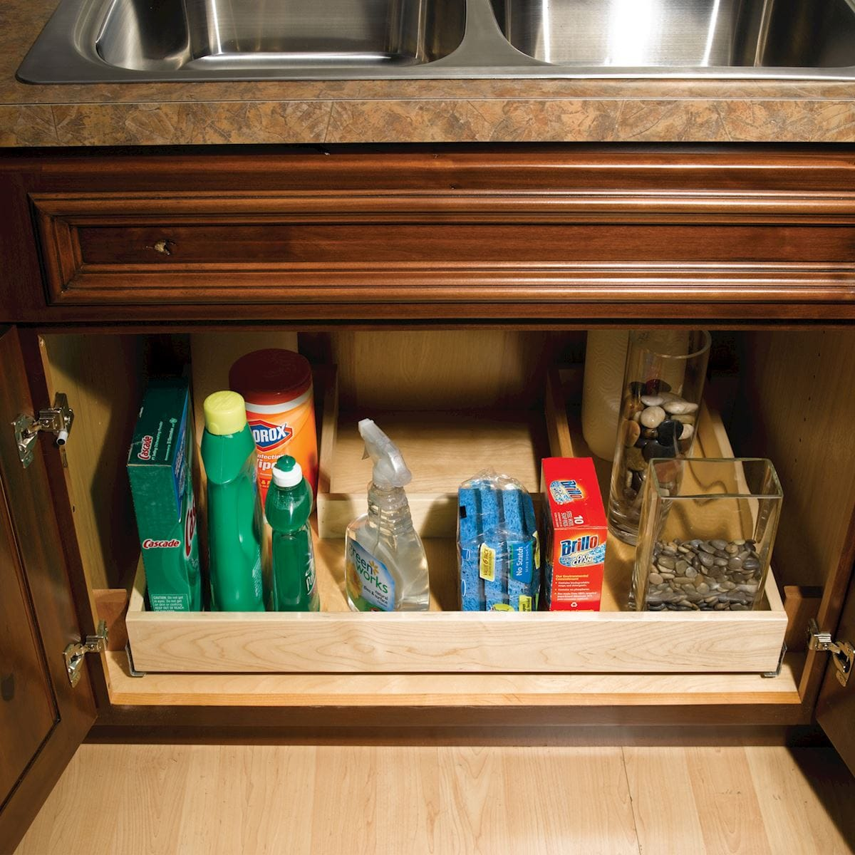 Undersink Pullout Recycle Center Style D