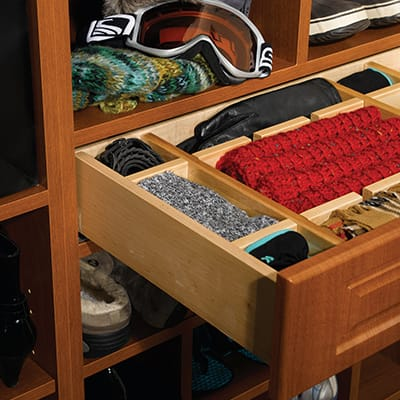 Drawer Organizers Scarfs