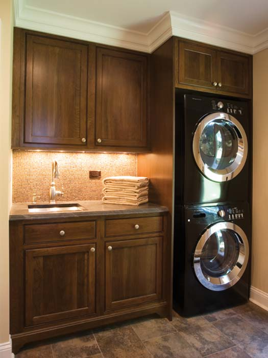 multipurpose - bertch cabinets Laundry Room Cabinets