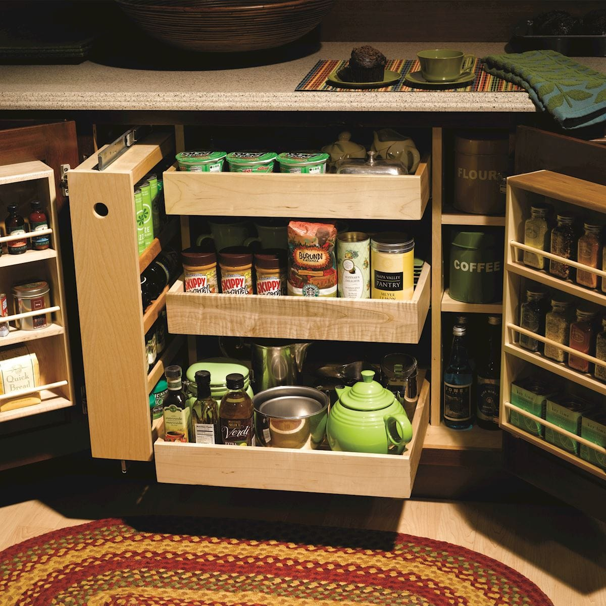 Storage Hacks for Your Kitchen