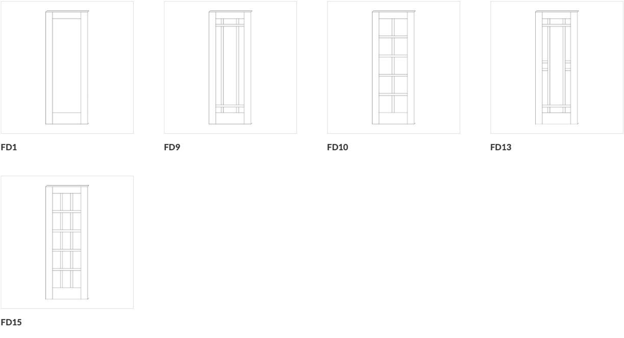 French Door Configurations