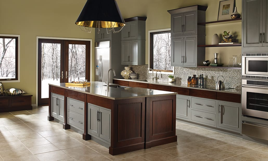 marvelous kitchen color scheme | Kitchen Color Schemes - Bertch Cabinet Manfacturing