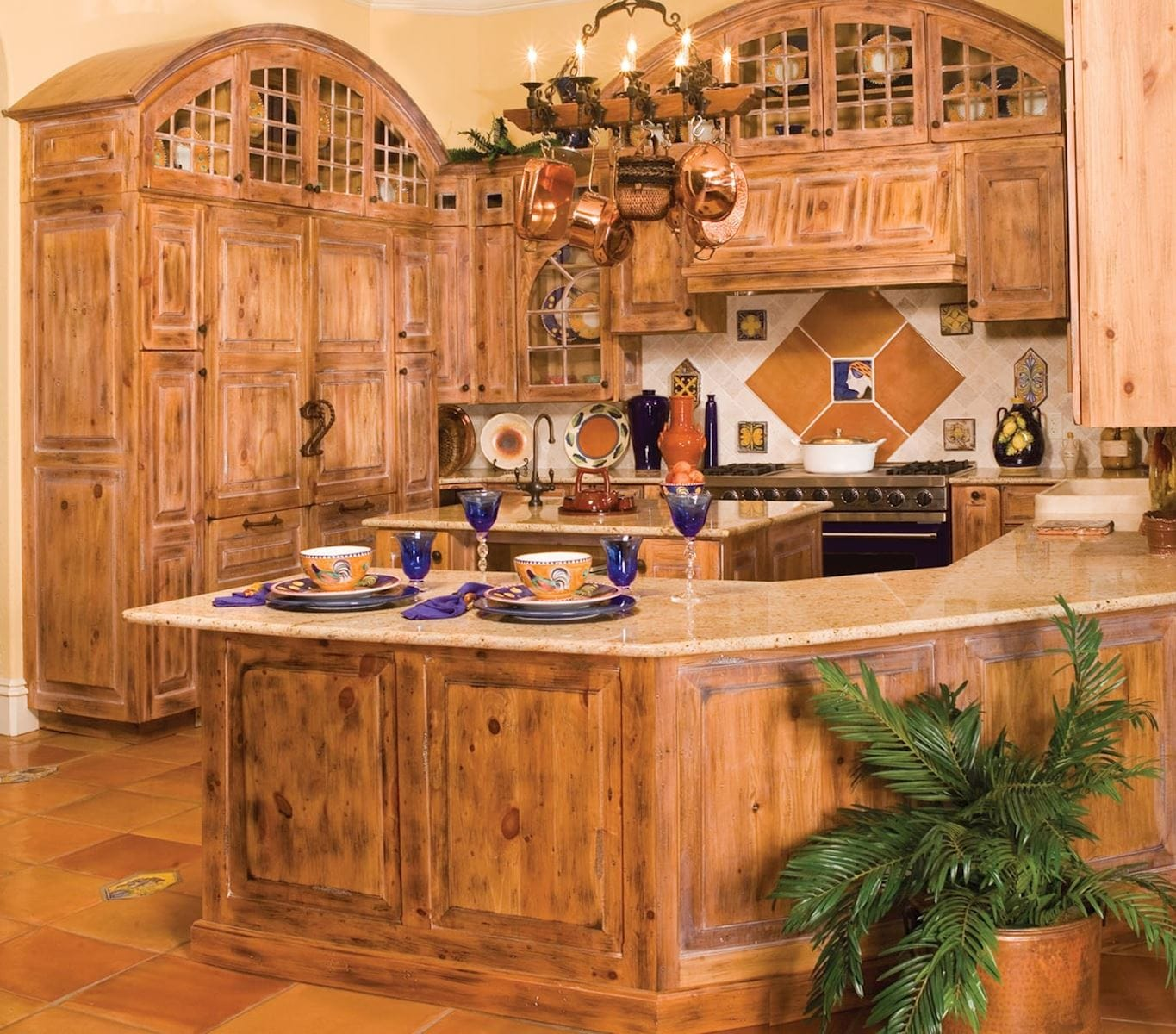 Rustic Pine Kitchen Cabinets: Kitchen Cabinet Woods And Finishes