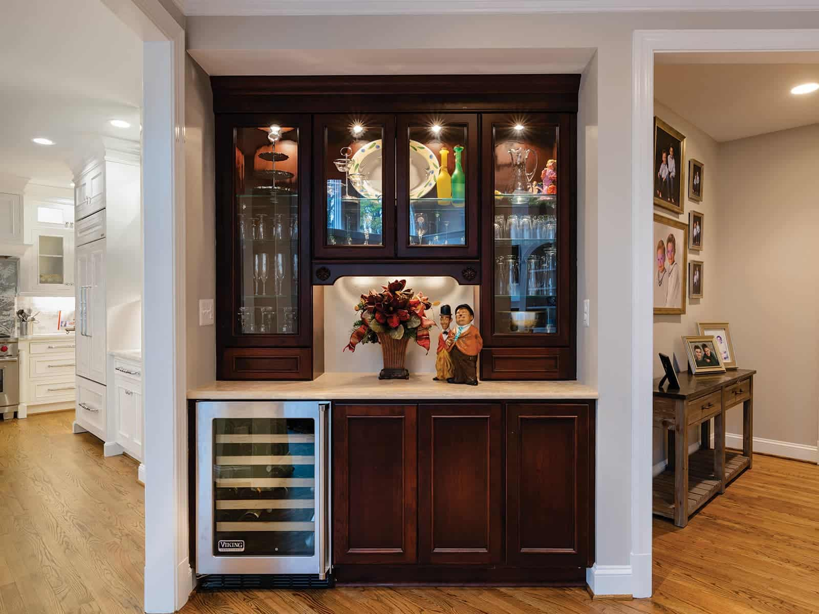 Bar Home The Next Step Up From A Bar Cart Would Be Converting A Side Table,  Sideboard, Or Credenza Into A Bar. Offering More Storage Space Than A Bar  Cart, ...